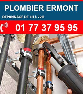 Plombier Ermont urgence
